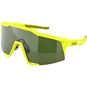 100% Speedcraft Gafas Alta, soft tact banana/smoke